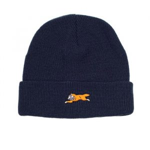 Ice Cream Era Knit Beanie Peacoat Blue