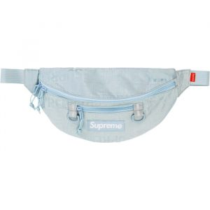 supreme waist bag ss 19 ice front