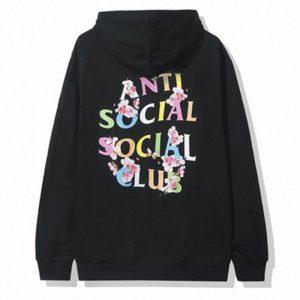 Anti Social Social Club Frantic Hoodie Black