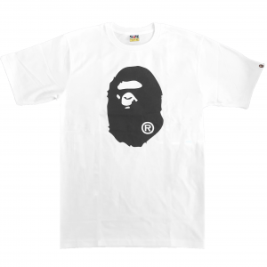 Bape Ape Head Black Tee 2020