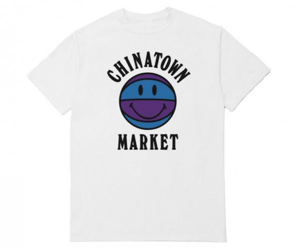 Chinatown Market UV Basketball Tee White UV
