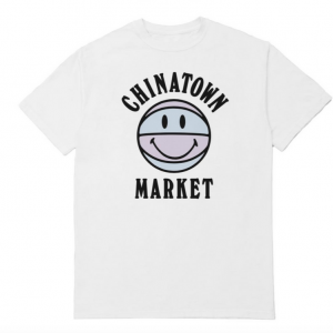 Chinatown Market UV Basketball Tee White