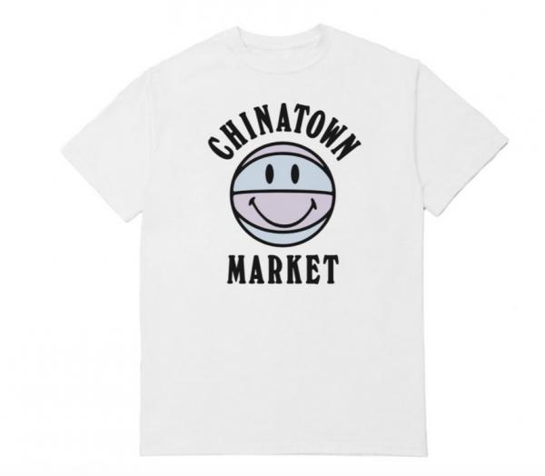 Chinatown Market UV Basketball Tee White
