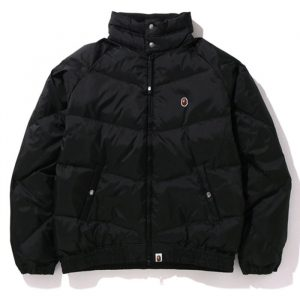 bape down jacket 2020 black