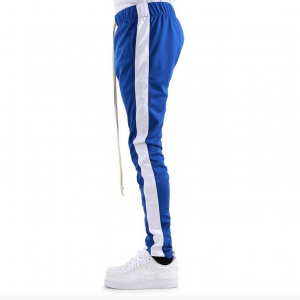 eptm track pants royal white side