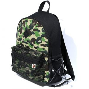 Bape Backpack Bungee Cord Green Camo