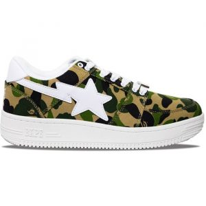 Bape Bapesta Low FW19 Green Camo