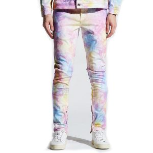 crysp denim pacific denim light tie dye