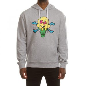 Ice Cream Lemonade Hoodie Grey