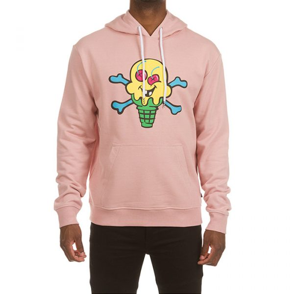 Ice Cream Lemonade Hoodie Pink