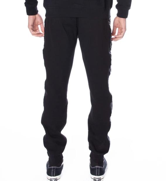 kappa alanz pants black white antique back