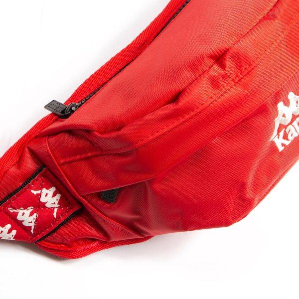 Kappa Banda Anais Fanny Pack Red Close Up
