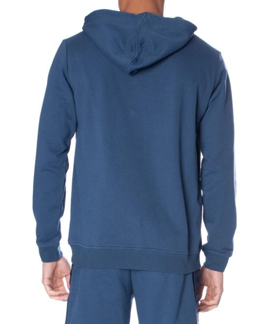 kappa authentic zimm hoodie dark navy white back