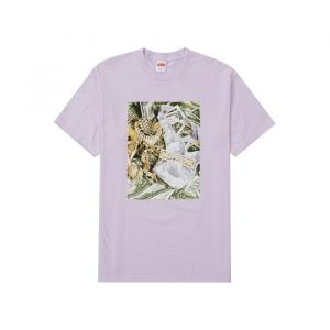 Supreme Bling Tee Light Purple