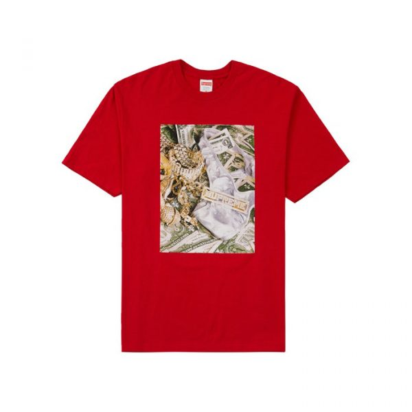 Supreme Bling Tee Red
