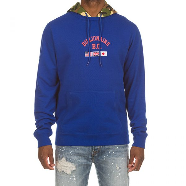 Billionaire Boys Club BB Tour Hoodie Blue