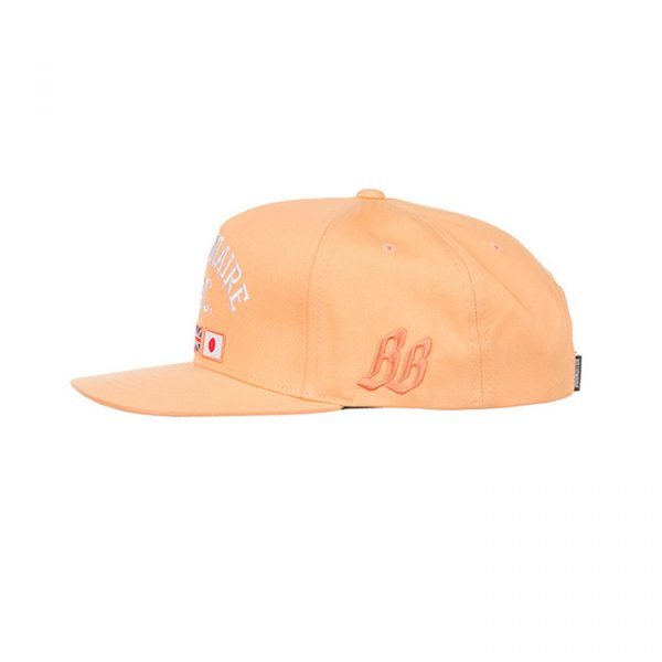 Billionaire Boys Club BC Snapback Peach Cobbler Other Side