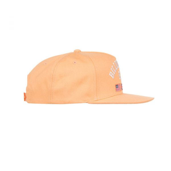 Billionaire Boys Club BC Snapback Peach Cobbler Side