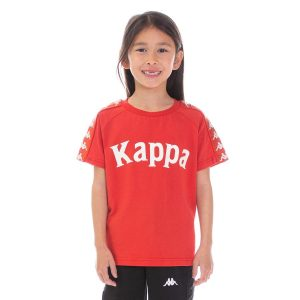 Kids Kappa Balima Tee Red