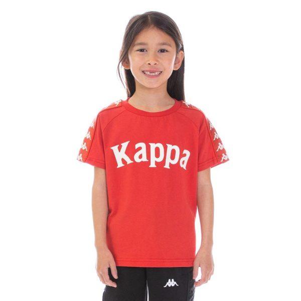Kids Kappa Balima Tee Red
