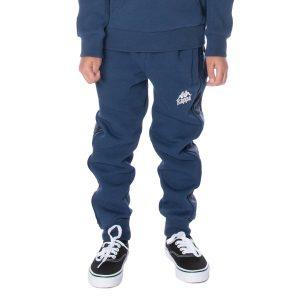 Kids Kappa Alanz Pants Blue DK