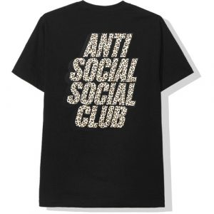Anti Social Social Club Kitten Tee Black