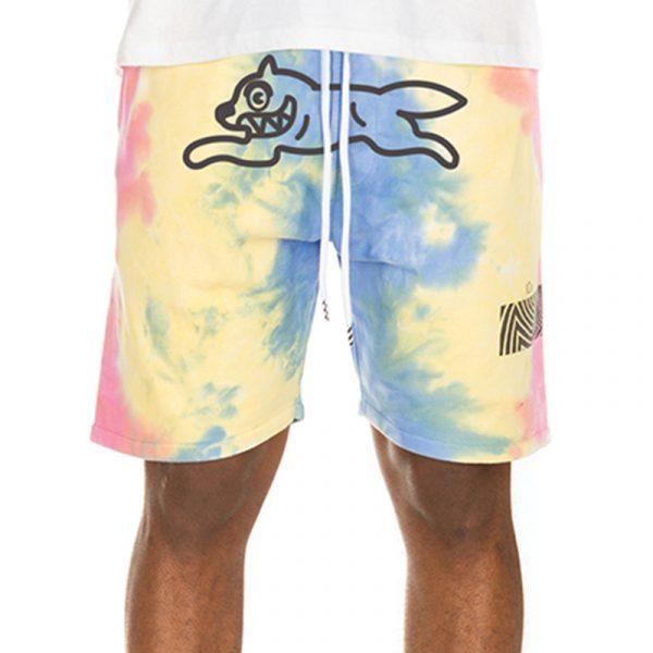 Ice Cream Melt Shorts Tie Dye Front