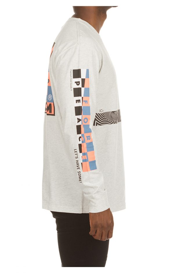 Ice Cream Parker LS Knit White Right Arm
