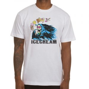Ice Cream Ripper SS Tee White