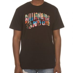 billionaire boys club arch logo tee black