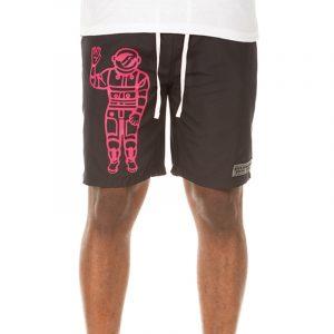 billionaire boys club propser shorts black front