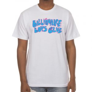 billionaire boys club scrabble tee white front