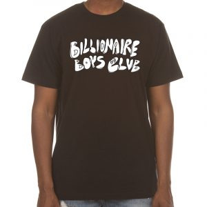 billionaire boys club scribble tee black front