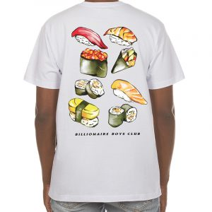 Billionaire Boys Club Spicy Mayo SS Tee white back