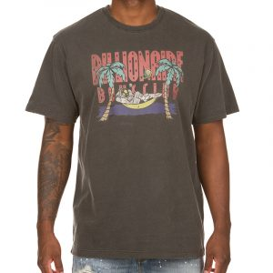 billionaire boys club vacay ss knit black