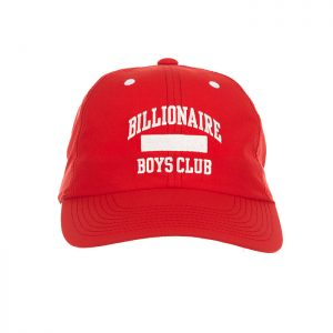Billionaire Boys Club BB No Cap Dad Hat Red