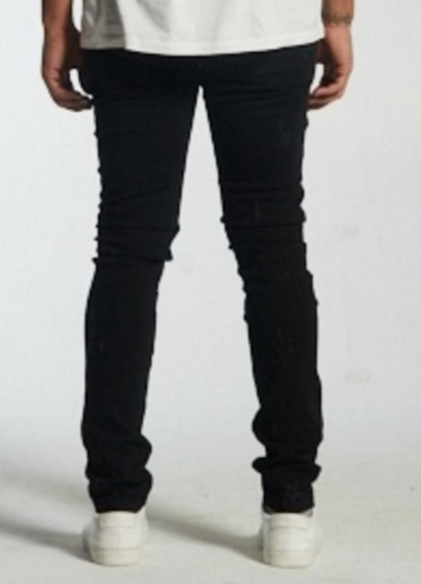 Embellish Summit Denim Black Back