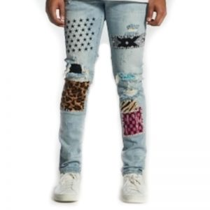 Embellish Summit Patchwork Denim