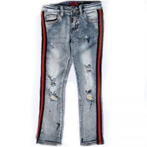 Haus Of JR Leonard Striped Denim