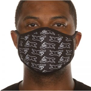 Ice Cream Moving Face Mask Black