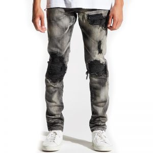 embellish hayes rip and repair denim