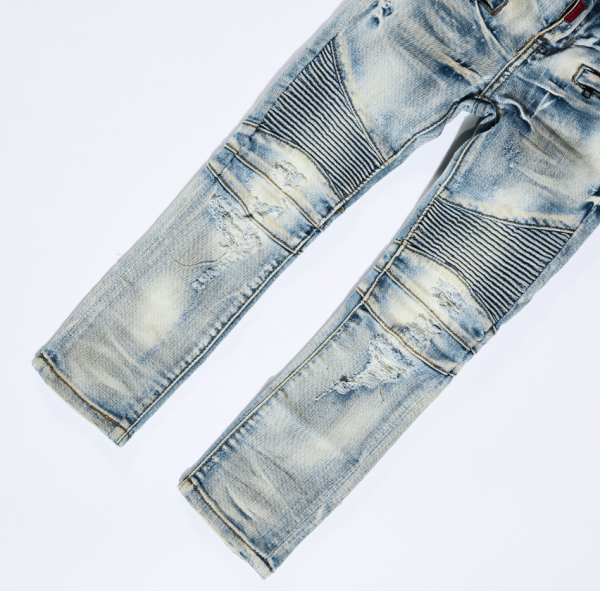 Haus Of JR James Biker Denim Thigh