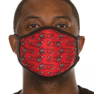 Ice Cream Moving Face Mask Red