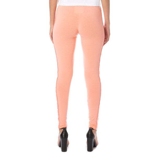 Kappa Womens Anen Leggings Pink Dark Peach White Back