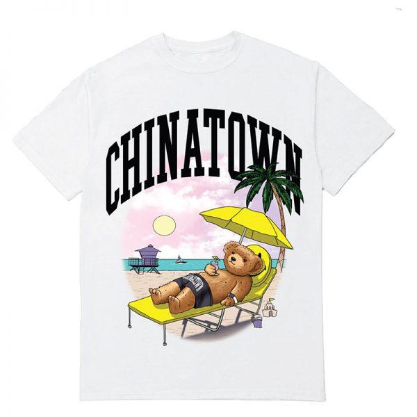 Chinatown Market Smiley Beach Bear Tee