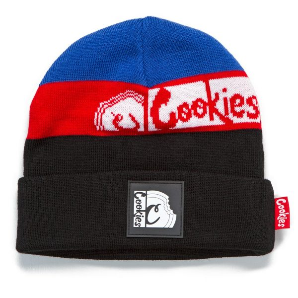 Cookies Glaciers Of Ice Knit Beanie Blue