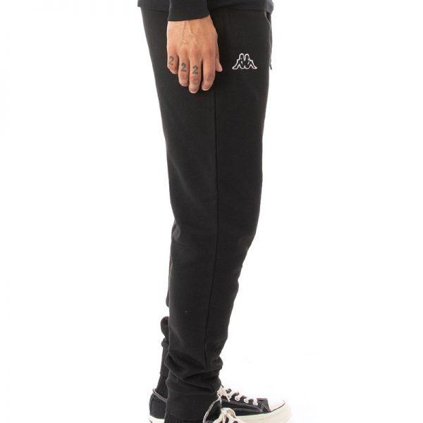 Kappa Logo Zanok Sweatpants Black Side