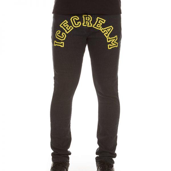 Ice Cream College Jeans Black