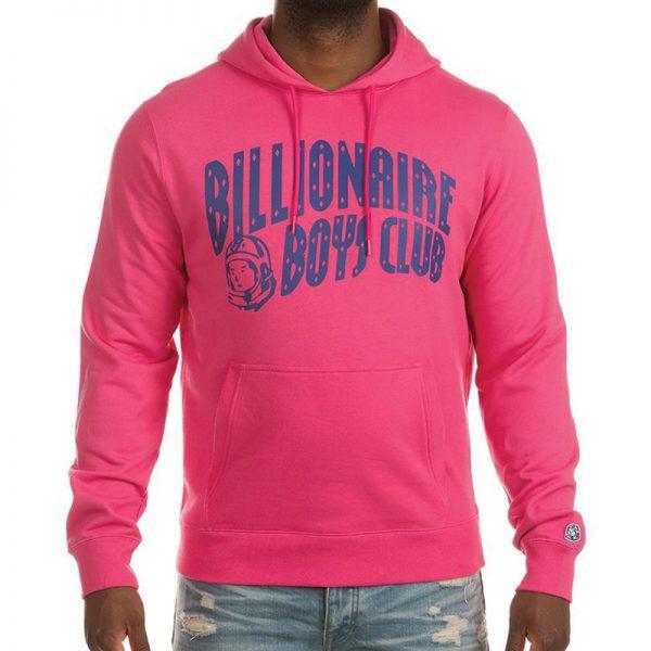 Billionaire Boys Club BB Arch Hoodie SP21 Fandango Pink