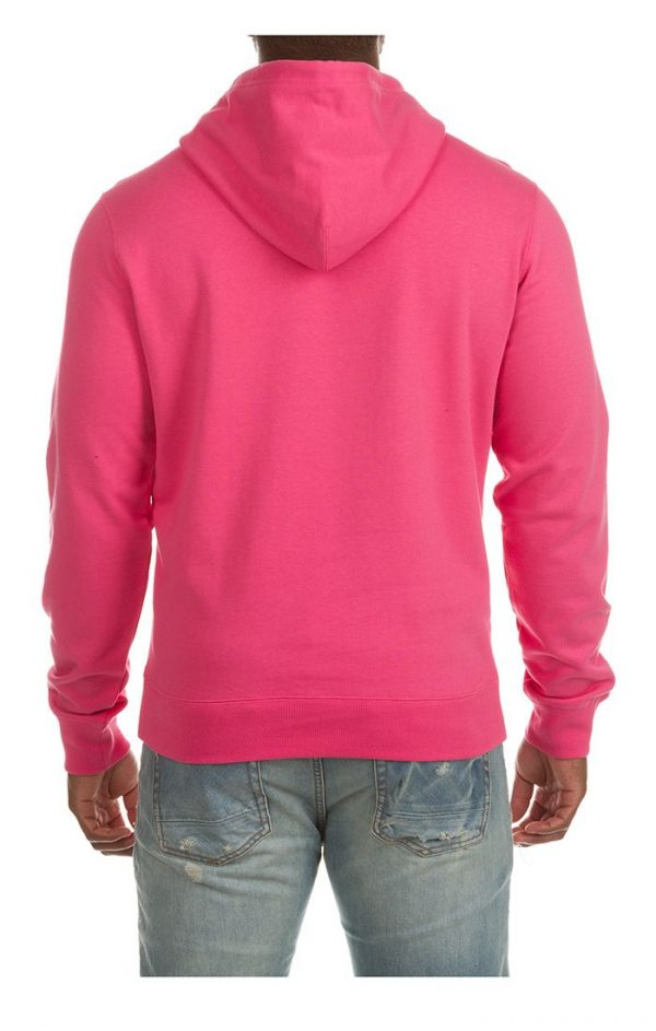 Billionaire Boys Club BB Arch Hoodie SP21 Fandango Pink Back